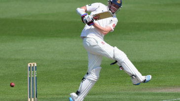 Luke Wells carried his bat for an unbeaten 79