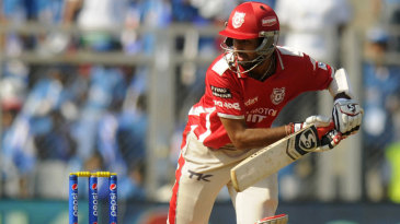 Cheteshwar Pujara guides the ball past point
