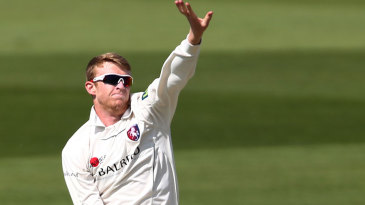 Adam Riley removed Surrey's middle order