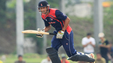 Paras Khadka top-scored with 33