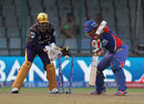 Laxmi Shukla was thoroughly deceived by Sunil Narine, Delhi Daredevils v Kolkata Knight Riders, IPL 2014, Delhi, May 7, 2014