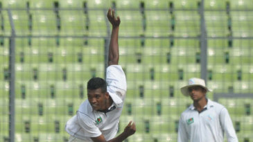 Al-Amin Hossain's four wickets gave South Zone the lead
