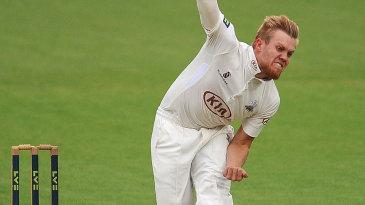 Matt Dunn had three wickets by mid-afternoon