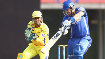 Shane Watson opened the innings and struck a half-century