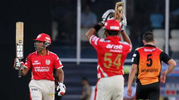 Wriddhiman Saha reached his half-century in 22 balls