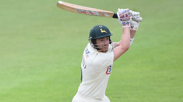 Riki Wessels ended the day unbeaten on 78