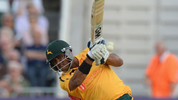 Samit Patel top-scored for Nottinghamshire with 56