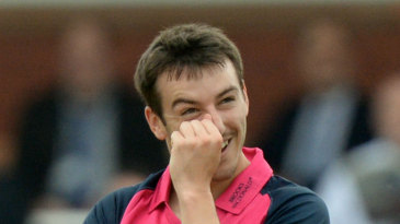 Toby Roland-Jones leaked 36 runs from three overs