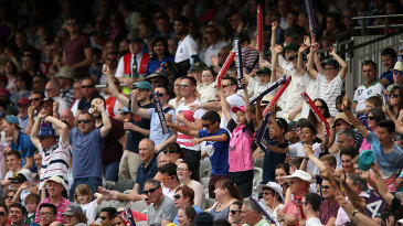 Fans enjoy the opening weekend of the T20 Blast