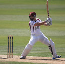 Stephen Peters cuts during his 67, Northamptonshire v Middlesex, County Championship, Division One, Wantage Road, May 18, 2014