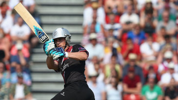 Craig Kieswetter hit 61 but Somerset came up short