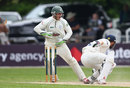 Ben Cox completes the stumping of Jaik Mickleburgh, Worcestershire v Essex, County Championship, Division Two, 3rd day, May 20, 2014