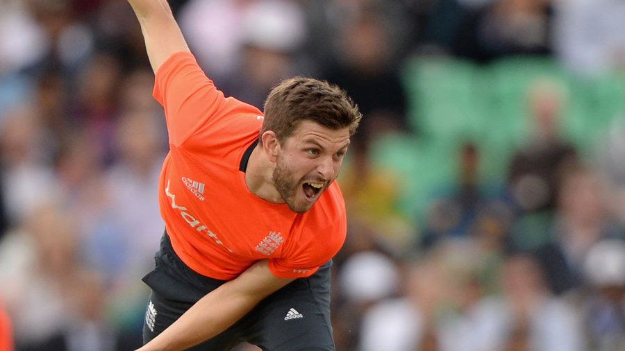 Harry Gurney was making his T20 international debut
