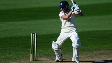 Michael Richardson helped put on a century stand for the second wicket