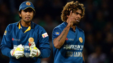 Lasith Malinga claimed 3 for 28 to lead his side to victory