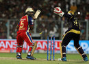 Yogesh Takawale is bowled, Kolkata Knight Riders v Royal Challengers Bangalore, IPL 2014, Kolkata, May 22, 2014