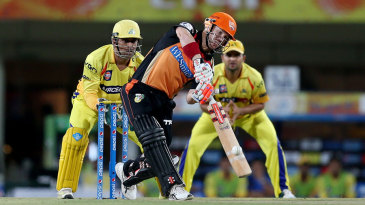 David Warner reached a fifty inside the Powerplay