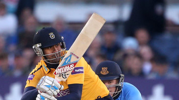 Owais Shah on his first Hampshire appearance