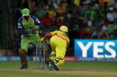 Yogesh Takawale stumps Suresh Raina, Royal Challengers Bangalore v Chennai Super Kings, IPL 2014, Bangalore, May 24, 2014
