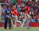 Parvinder Awana picked up two wickets in the sixth over, Kings XI Punjab v Delhi Daredevils, IPL 2014, Mohali, May 25, 2014