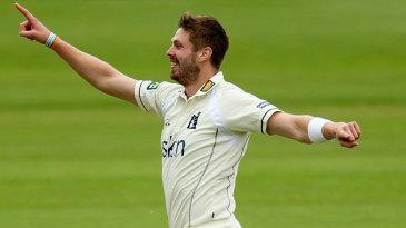 Boyd Rankin picked up three wickets on his return