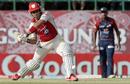 Siddharth Chitnis hits out, Kings XI Punjab v Delhi Daredevils, IPL, Dharamsala, May 19, 2012