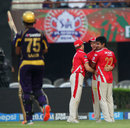 Karanveer Singh dismissed Shakib Al Hasan for 18, Kings XI Punjab v Kolkata Knight Riders, IPL 2014, Qualifier 1, Kolkata, May 28, 2014