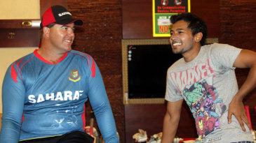 Heath Streak and Mushfiqur Rahim in conversation