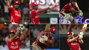 Kings XI Punjab top six batsmen