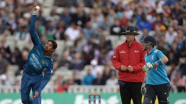 Sachithra Senanayake in action