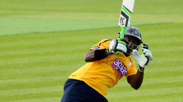 Michael Carberry hit 73 off 58 balls