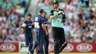 Kevin Pietersen made only 5 on his return to cricket in England