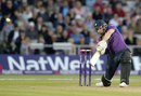 Rich Pyrah smashes a six to complete the chase, Surrey v Essex, NatWest T20 Blast, The Oval, June 6, 2014