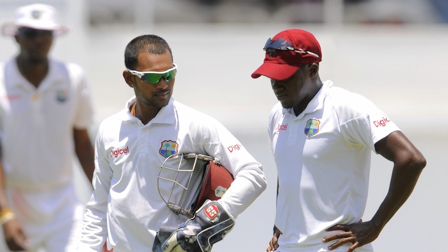 Denesh Ramdin talks to Jerome Taylor