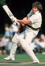 Gary Gilmour bats for the Australian Taverners, Arundel, August, 1980