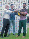 Afzal Saleem was adjudged player of the tournament, Kuwait v Saudi Arabia, ACC Elite League 2014, Singapore, June 13, 2014