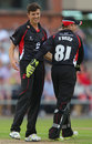 Leicestershire's loan signing Richard Jones was in the wickets, Lancashire v Leicestershire, NatWest T20 Blast, Northern Division, Old Trafford, June 13, 2014