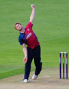 Adam Ball finished with 1 for 33, Glamorgan v Kent, NatWest T20 Blast, Southern Division, Cardiff, June 13, 2014
