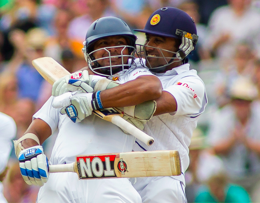Sanga and Maiya: has there been a better double act?