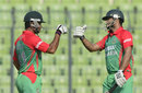 Mashrafe Mortaza and Abdur Razzak added 32 for the ninth wicket, Bangladesh v India, 1st ODI, Mirpur, June 15, 2014