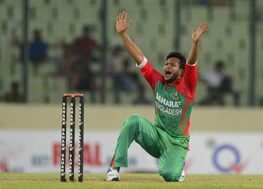 Shakib Al Hasan profile and biography, stats, records, averages, photos and videos