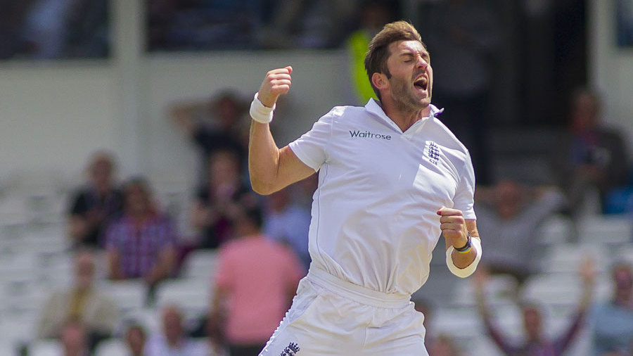 Liam Plunkett's celebrations were in full force