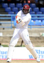 Chris Gayle cuts, West Indies v New Zealand, 2nd Test, Port of Spain, 5th day, June 20, 2014