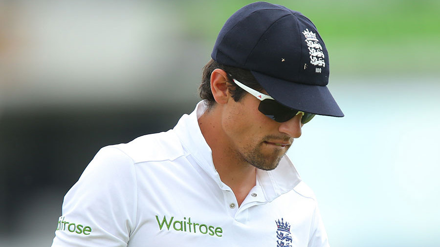 Alastair Cook was left with much to ponder