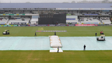 The weather refused to play ball for the Roses match