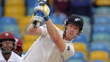 Jimmy Neesham hits over the top