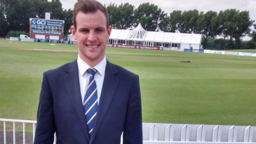 Tom Poynton is involved in promoting the India tour game