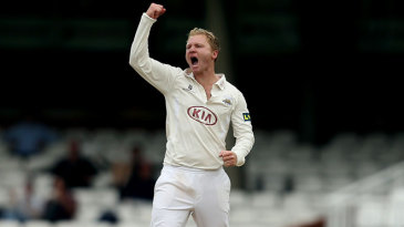 Gareth Batty picked up two wickets