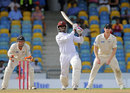 Shane Shillingford scored a stubborn 30, West Indies v New Zealand, 3rd Test, Barbados, 5th day, June 30, 2014