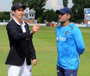 Derbyshire chose to bat in the tour game, Derbyshire v Indians, Tour match, Derby, 1st day, July 1, 2014